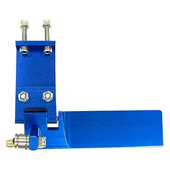 Aluminium Alloy Metal Suction Water Rudder For Remote Control Rc Boats (blue)