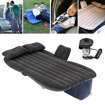 Voiture gonflable Voyage Camping Seat Sleeping Rest Matelas Air Bed avec 2 oreillers