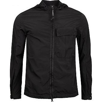 C.p Company Hooded Zip Through Shirt