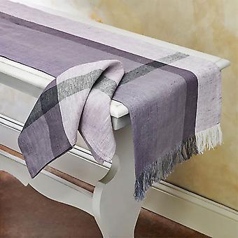 """Spura Home indiai kézzel készített füge dekor asztali futó 14&x72"""""""
