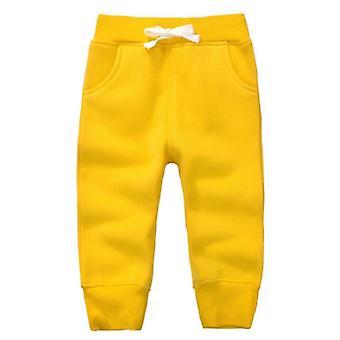 الشتاء الدافئ المخملية عارضة الرياضة sweatpants للأطفال 1.5 سنة
