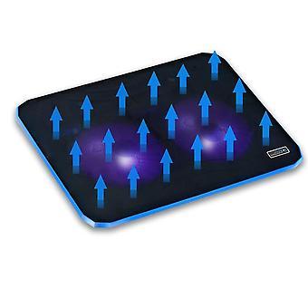 Professional External Laptop Cooler Pad Slide-proof Stand Notebook Cooling Fan