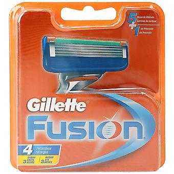 Gillette Fusion 4 yksikköä varaosat