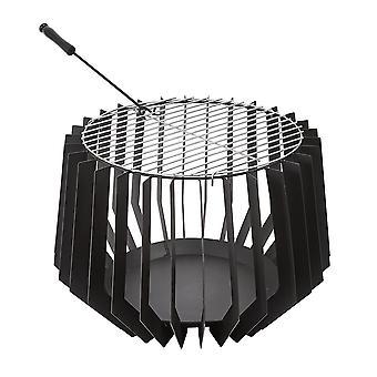 Outdoor Steel Fire Pit Basket Bowl Houtkachel Brazier Tuin Patio Kachel