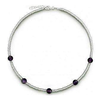 QUINN - Halskette - Damen - Silber 925 - Edelstein - Amethyst - 27169333