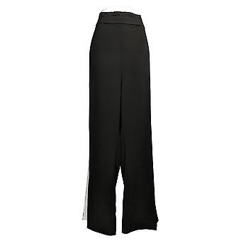 A G.I.L.I. le encanta la bolsa de papel regular cintura ancha-pierna negra A368155