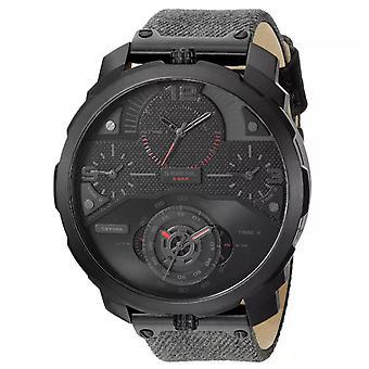 שעון גברים אנלוגי דיזל עם רצועת בד DZ7358