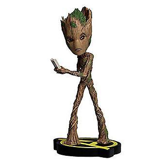 Marvel Groot Head Knocker-collectible figure, 21 cm