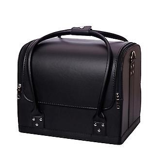 Ny sminkväska med stor kapacitet Multilayer Bärbar Rese makeup verktygsväska| Kosmetiska väskor & väskor
