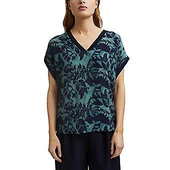 ESPRIT Collection 021EO1K311 T-Shirt, 403/Navy 4, XL Women