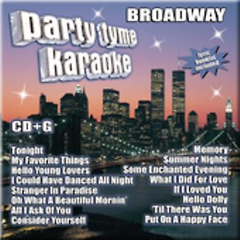 Party Tyme Karaoke - Broadway [CD] USA import