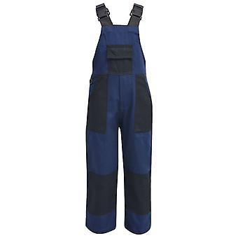 vidaXL Kinder Arbeitslatzhose Größe 98/104 Blau