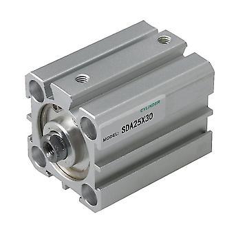Para cilindro de ar fino SDA25x30 25mm Furo 30mm Curso para equipamento automático WS2539