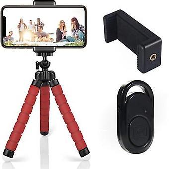 Set selfie wireless per treppiede in spugna per Bluetooth universale portatile mobile