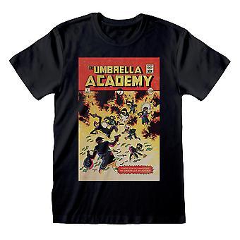 The Umbrella Academy Unisex Adult Comic Cover T-Shirt