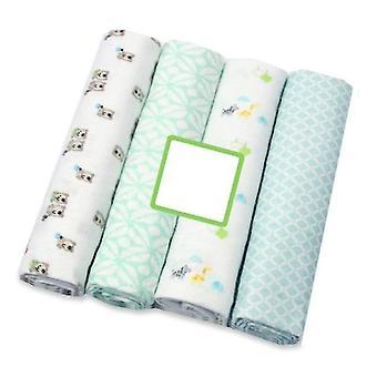 new a6 4pcs newborn baby bed sheet bedding set sm17959