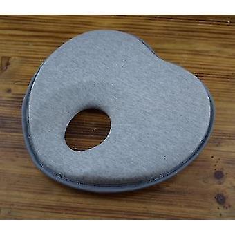 new gray foam 0 6 months infant head positioning sleeping pillow sm17836