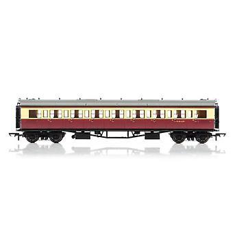 Hornby R4684A BR Collett Corridor 3rd Coach W4910W 00 Gauge