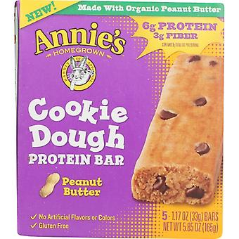 Annie's Homegrown Bar Ckie Dgh Pnut Btr, Case of 8 X 5.85 Oz