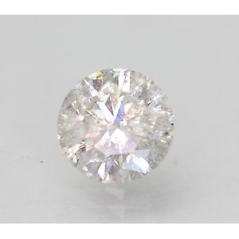 Certificado 1.24 Quilates G SI2 Rodada Brilhante Diamante Natural Aprimorado 6.78m EX CUT