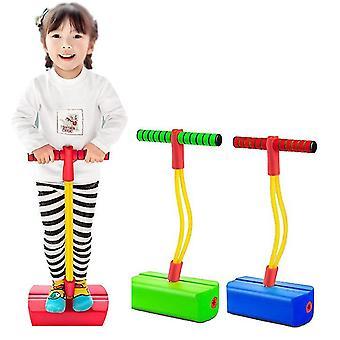 Mein erster Schaumstoff-Pogo-Pullover für Kinder Spaß und sicherer Pogo-Stick für Kleinkinder (ROT)