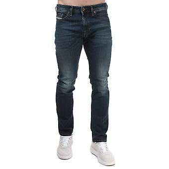 Herren Diesel Thommer Slim Jeans in Blau