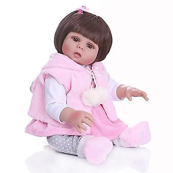 49Cm full body soft silicone reborn baby dolls fashion waterproof baby doll toy for kids birthday gifts christmas gift