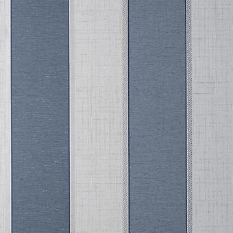 Fin dekor Larson Stripe Navy Silver Tapet FD42823