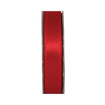 LAST FEW - Ruban d'artisanat en satin de 3m Radiant Red 10mm Wide
