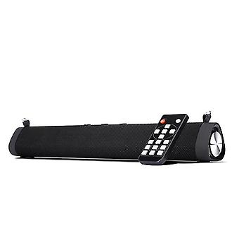 Wired and Wireless TV Soundbar 16W Bluetooth 5.0 Speaker Outdoor Portable Desktop Echo Wall Audio