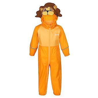 Regatta Childrens/Kids Charco Lion Waterproof Puddle Suit