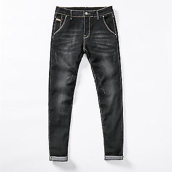 Men Stretch Skinny Jeans Pant Fashion Slim Fit Denim Trousers