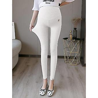 Summer Thin Maternity Legging High Waist Adjustable Belly Clothes