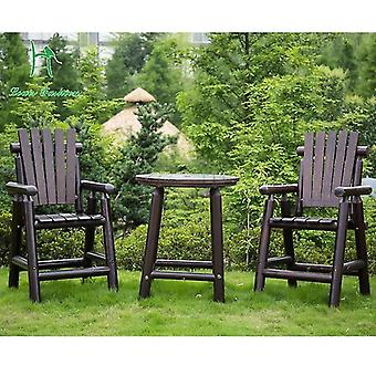 One Table And Two Chairs - Furniture Set