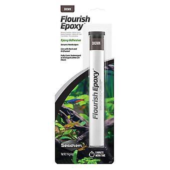 Seachem Flourish Epoxy Brown - 4 oz