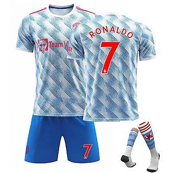 Cristiano Ronaldo Manchester United Jersey, Jersey No.7 Borte (voksen dress)