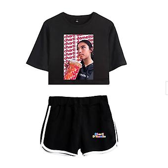 Charla Damelio Tik Tok T-shirt Dress Set 1