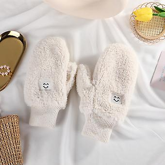 Creative Candy Color Shaker Fleece Winter Lovers Warm Outdoor Wind And Cold Gloves