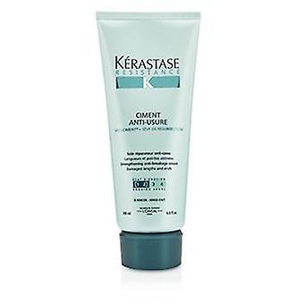 Kerastase Resistance Ciment Anti-usure Strengthening Anti-breakage Cream - Rinse Out (for Damaged Lengths & Ends) - 200ml/6.8oz