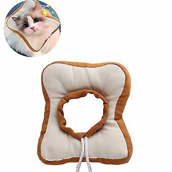 Pet Cat Elizabeth Zotavenie Golier, toastový chlieb anti-lízanie golier veľkosť