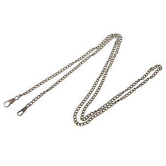 Purse Bag Strap Cross Body Replacement Diy Shoulder Handbag Handle Metal Chain