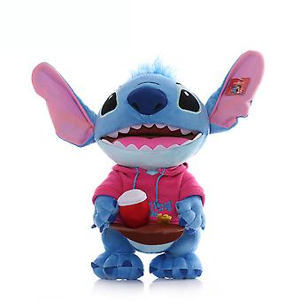 Stitch Cartoon Figure Pink Soft Doll Girl Plush Toy
