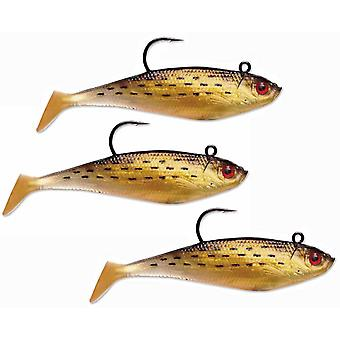 Storm Wildeye Swim Shad 06 Fishing Lure 3-Pack - Golden Mullet