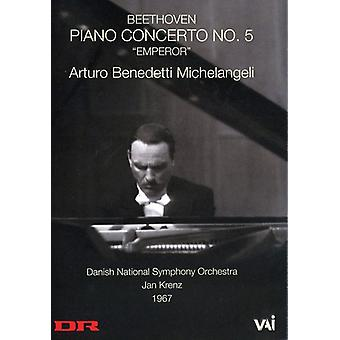 Beethoven: Piano Concerto No. 5, Emperor [DVD Video] [DVD] USA import