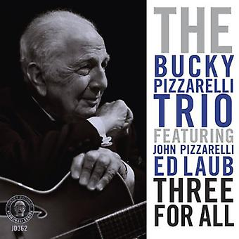 Bucky Pizzarelli - Three for All [CD] USA import