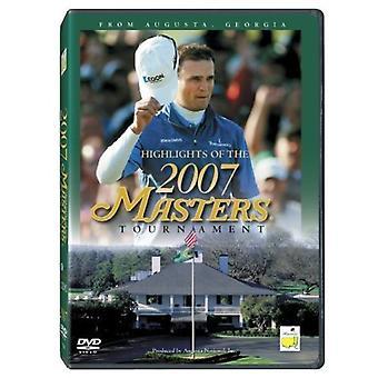 Højdepunkterne i 2007 Masters turneringen [DVD] USA importen
