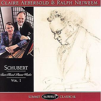 F. Schubert - Schubert: Fire-hånd Piano Works, Vol. 1 [CD] USA import