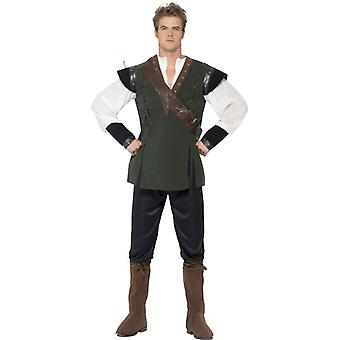 Robin Hood costum Deluxe Robin Fairy tale costum