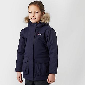 New Berghaus Girl's Ancroft Waterproof Parka Blue
