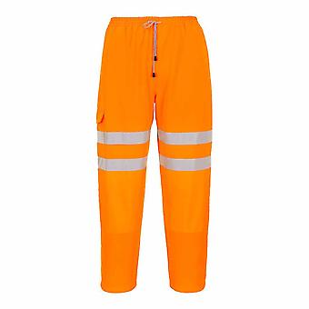 Portwest - Hi-Vis Safety Workwear Rail Track Side Jogging Bottoms Trouser